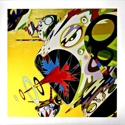 Takashi Murakami, 'Homage to Francis Bacon - Study of Isabel Rawsthorne', 2011
