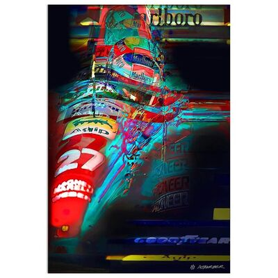 Andrew Barber, 'Jean Alesi - Ferrari Formula 1 | Automotive | Car', 2019