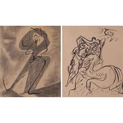 André Masson, 'Étreinte et enlacement', 1960