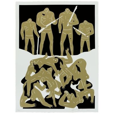 Cleon Peterson, 'Genocide (White Edition)', 2016