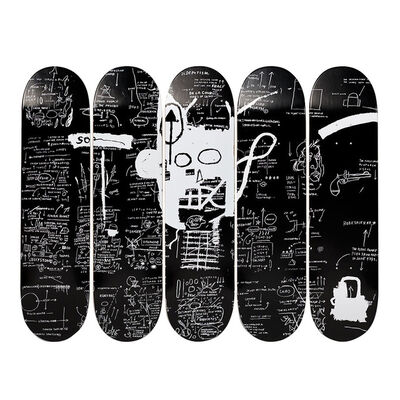 Jean-Michel Basquiat, 'Demon Skatedecks', 2016