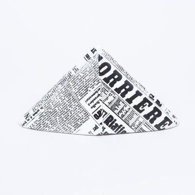 Piero Fornasetti, 'Newspaper Hat Paperweight', ca. 1950