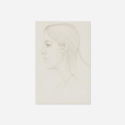 Alex Katz, 'Portrait of Deborah', 1972