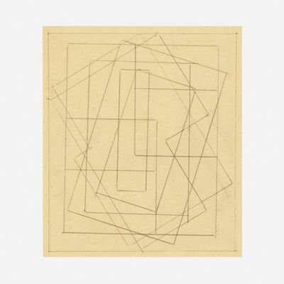 Blanche Lazzell, 'Abstract Drawing VI', c. 1928