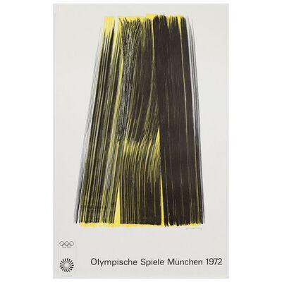 Hans Hartung, 'Munich Olympics', 1972