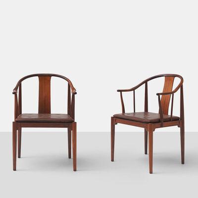 "Hans Jørgensen Wegner, 'Pair of Rosewood ""China"" Chairs by Hans J Wegner', ca. 1960"