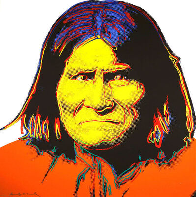 Andy Warhol, 'Geronimo (FS II.384)', 1986