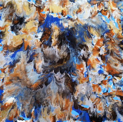 Alexandra Romano, 'Fluid Waves', 2016