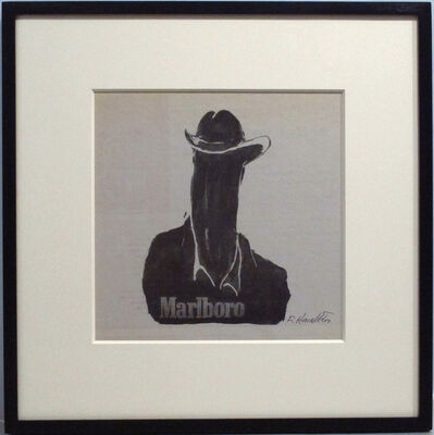 Richard Hambleton, 'Marlboro Dick Head', 2004