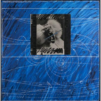 Jacques Monory, 'Le peintre n°697', 1985