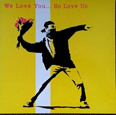 Banksy, 'We Love You So Love Us Album & LP', 2000