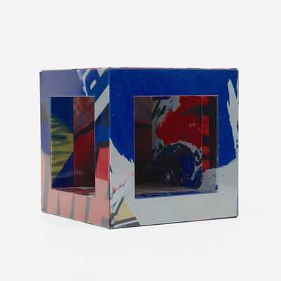 Mimmo Rotella, 'Untitled (Cube)', c. 2007
