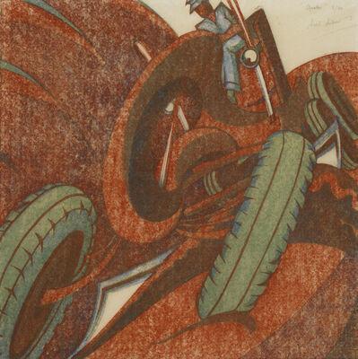 Sybil Andrews, 'Grader', 1959