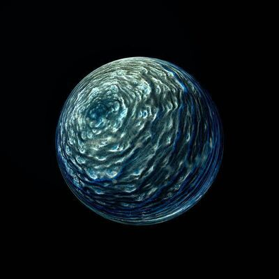 Ernie Button, 'Planet Clynelish 33', 2017