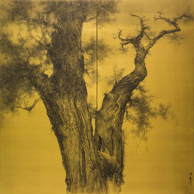 Li Huayi, 'Old Cypress', 2016