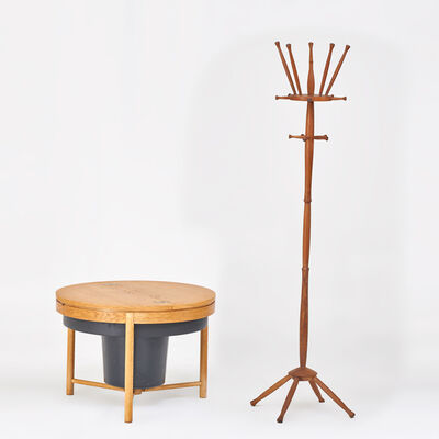 Rastad Og Relling, 'Sewing stand together with coat rack', ca.  1960s