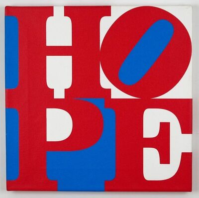 Robert Indiana, 'Red/ White/ Blue HOPE', 2008