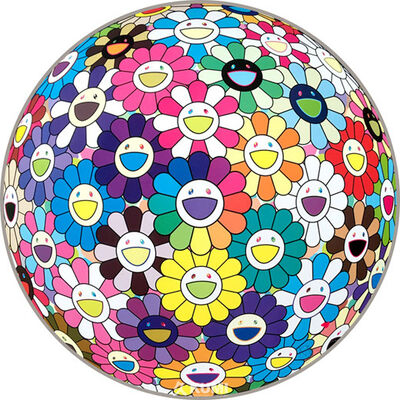 Takashi Murakami, 'multicolor (Thoughts on Matisse)', 2015