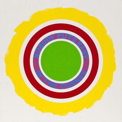 Deborah Kass, 'Nobody Puts Baby In The Corner', 2009