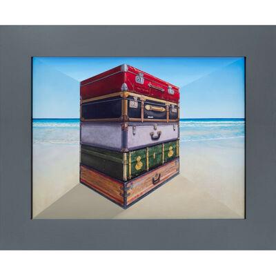 Patrick Hughes, 'Luggage', 2020