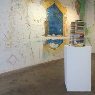 Jeff Gabel: 28000 Pages or, 'In Color': a mid-life crisis, installation view