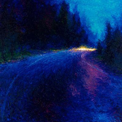 Iris Scott, 'Cobalt Blue Drive (Embellished Artist's Proof)', 2018