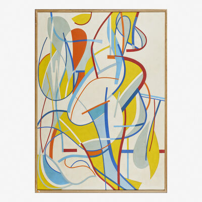 Carl Holty, 'Untitled (Ribbon Painting)'