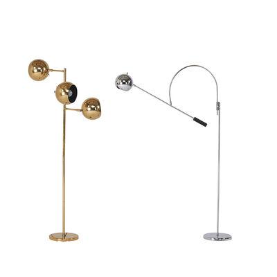 Koch & Lowy, 'Orbiter adjustable floor lamps'