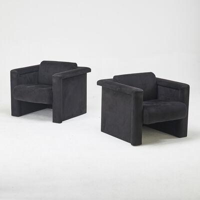 Robert & Trix Haussmann, 'Pair of Lounge chairs'