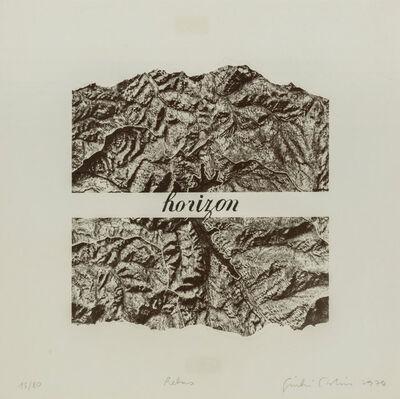 Giulio Paolini, 'Rebus', 1974