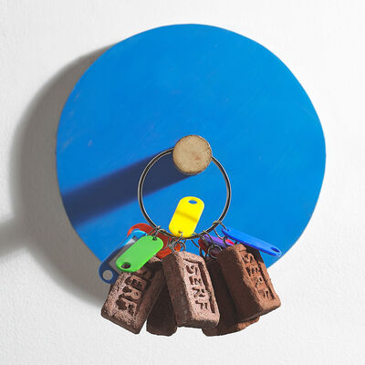 Nevan Lahart, 'Buy the painting, get the key ring free (display model)', 2015