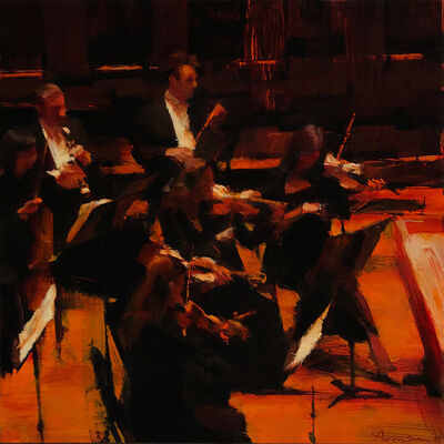 Ben Aronson, 'Symphony Hall', 2018