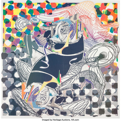 Frank Stella, 'Whale Watch, from Moby Dick', 1993