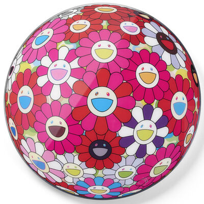 Takashi Murakami, 'FLOWERBALL 3D TURN RED!', 2013