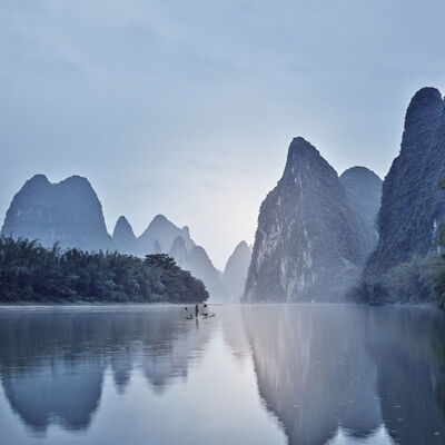 David Burdeny, 'Goodnight Day, Yangshuo, China', 2017