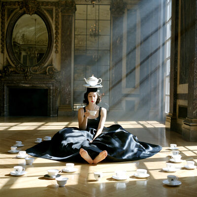 Rodney Smith, 'Zoe Balancing Teapot on Head, Burden Mansion, New York, NY', 2006