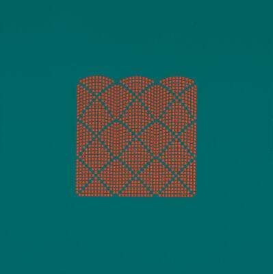 Tess Jaray RA, 'After Damascus Three Pillars Green & Red', 2009