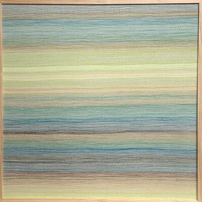 Inkyo Back, 'H.A.Z.E. (blue - yellow)', 2014