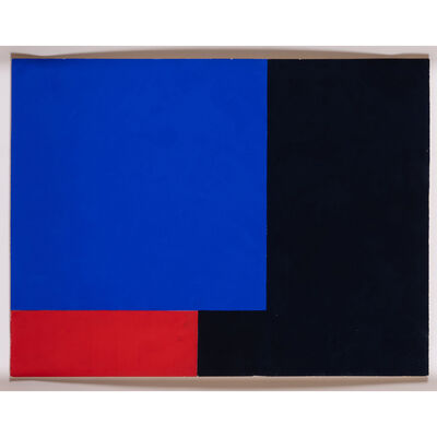 Aurelie Nemours, 'Angle noir', circa 1970