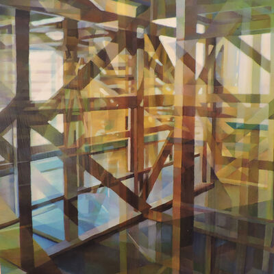 Nancy Newman Rice, 'Wooden Structure III', 2015