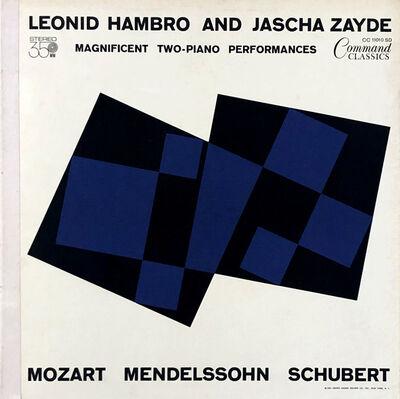 Josef Albers, 'Josef Albers vinyl record art ', ca. 1963