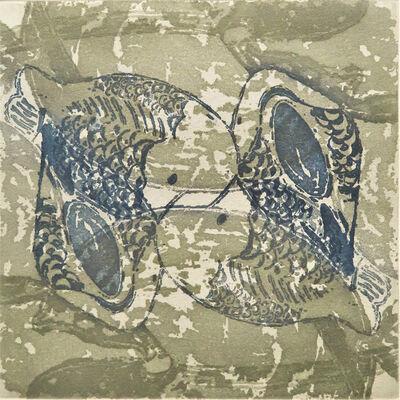 Monica Chivas, 'Blue & White on the pond 1', 2020