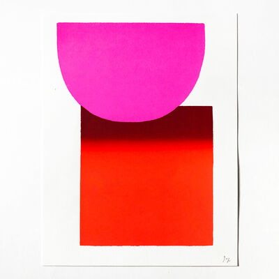 Rupprecht Geiger, 'Pink to Red', 2003
