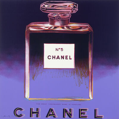 "Andy Warhol, 'Chanel from ""Ads"" portfolio', 1985"