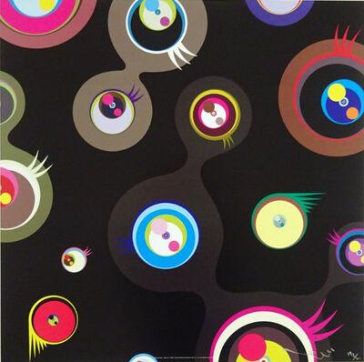 Takashi Murakami, 'Jellyfish Eyes Black #2', 2011