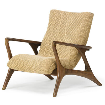 Vladimir Kagan, 'Contour lounge chair, New York', 1950s