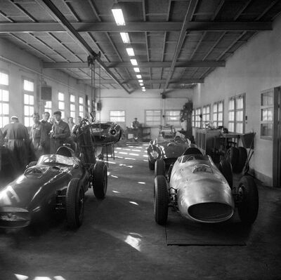 Jesse Alexander, 'Ferrari Factory, Maranello, Italy', 1958