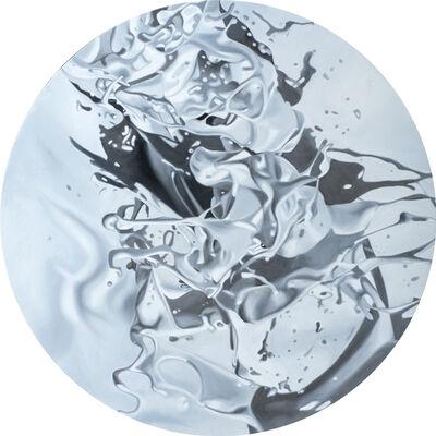 Philippe Huart, 'PEARL WHITE VERTIGE (VORTEX 34)', 2021