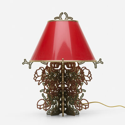 Studio Job, 'Roses on the Vine table lamp', 2005