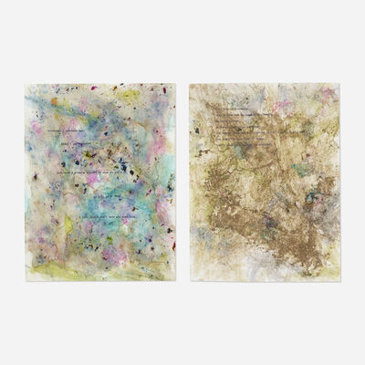 Dan Colen, 'Untitled (two works from Train Yourself to Lose)', 2013